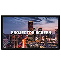 """Techlifer Projection Screen 130"""" 16:9 Fixed Frame Projector Screen HD 4K Home Theatre 3D(130inch)"""