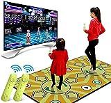 a810406d45cd QMKJ Dance Mat Alfombra Juegos de Padres e Hijos Almohadillas Doble  somatosensorial máquina de Baile de pérdida de Peso PC TV Tarjeta SD de  Doble Uso para ...