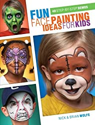 Fun Face Painting Ideas for Kids: 40 Step-By-Step Demos