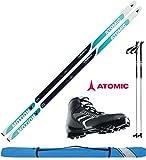 Atomic Damen Langlaufski-Set XCRUISE 55 women in 183cm + Bindung + Schuhe +...