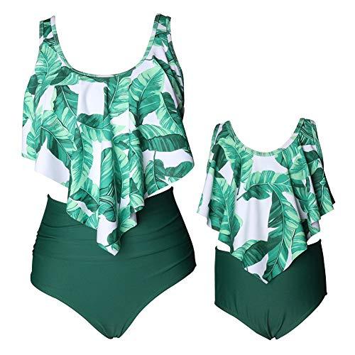 Xinvivion Madre Hija Floral Impreso Bikini Juego -