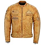 Herren - Motorradjacke aus Nappa Leder (XL)