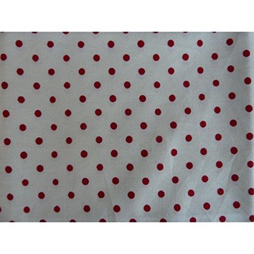 Unique boutique-stofftaschentücher pour homme dans différents coloris et motifs Punkte weiß rot