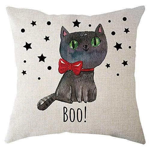 Italily halloween zucca cuscino copertina piazza carina gatto federa ringraziamento divano automobili home decor copri cuscino decorativo quadrato per casa,auto o divano