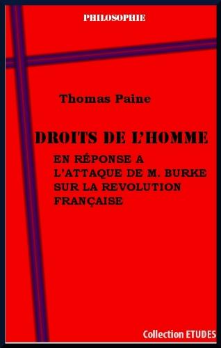 Droits de l'homme, par Thomas Paine par Thomas Paine