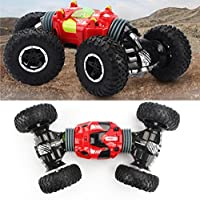 AmaMary Deformed Remote Control Car 2.4GHZ 4WD Twisted Climb Double Sided Deformation Bionic Cervical Design Vehicle Car - Compare prices on radiocontrollers.eu