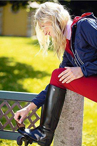 Kerbl Reitstiefel flexo, Chaussures dEquitation Adulte Mixte noir