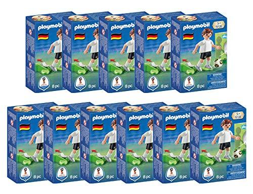 Playmobil Deutsche Fußball Nationalmannschaft mit Torwand und Schussfunktion (9511)