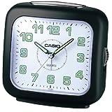 Casio TQ-359-1EF - Reloj analógico - digital de caballero de cuarzo con correa de piel negra (alarma)