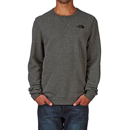 North Face M Street Fleece Herren Sweatshirt grau