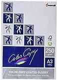 Color Copy Coated Glossy - Papier de qualité supérieure couché Blanc 250 g/m² A3 - Ramette de 125 feuilles
