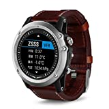 Tabcover for Garmin Fenix 3 Armband,Soft Luxury Leather Strap Replacement Watch Armband With Tools For Garmin Fenix 3