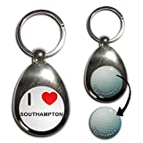 Best BadgeBeast Golf Ball Markers - I Love Southampton - Golf Ball Marker Key Review