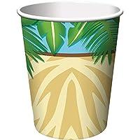 Creative Converting 375520 Safari Adventure - Cups, Hot & Cold, 9 oz. - Case of 96
