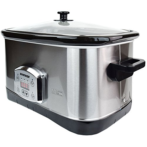 Syntrox Germany 7,5 l Slow Chef SC-750D Schongarer - 4