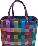 Einkaufstasche geflochten mit Henkeln - Tragetasche extra robust Farbe Classic