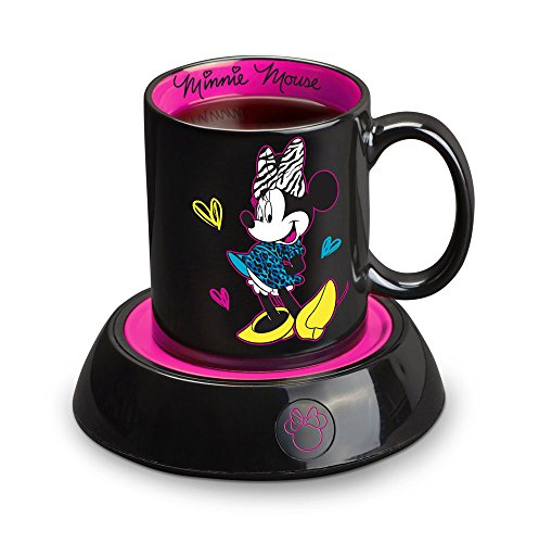 Disney DMG18 Minnie Mouse Mug Warmer, Black