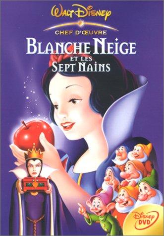 Livre Anime Blanche Neige - Blanche Neige et les sept