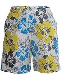 Waooh - Short De Bain Motif Fleurs Style Hawaïen Grégoire