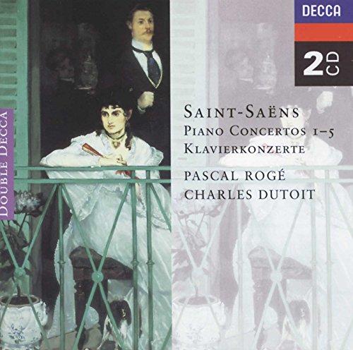 Saint-Saëns : Concertos pour piano n° 1 à 5 (Coffret 2 CD)