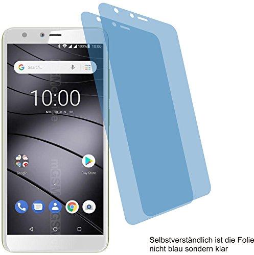 2X ANTIREFLEX matt Schutzfolie für Gigaset GS100 Bildschirmschutzfolie Displayschutzfolie Schutzhülle Bildschirmschutz Bildschirmfolie Folie