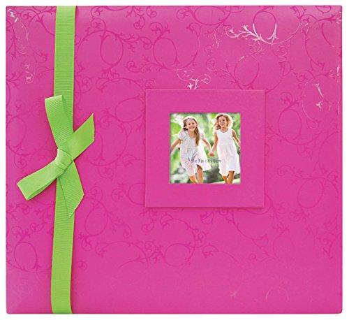 MBI, 12x 12Zoll geprägt Post Bound Album, Pink