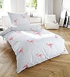 Primera Soft cama (gris con flamencos 135 x 200 + 80 x 80 cm