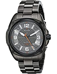 (CERTIFIED REFURBISHED) Bulova Precisionist Analog Grey Dial Men's Watch - 98B225