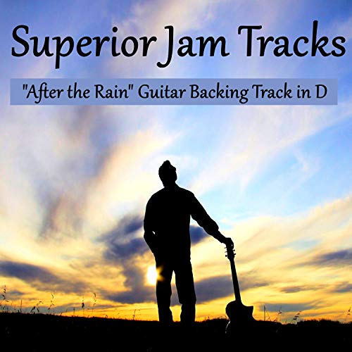 After the Rain Guitar Backing Track in D