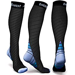 Compression socks Compression stockings for Men and Women, Sport, Jogging, Running, Flying, Traveling, Varicose veins, Pregnancy and doctors, Increase blood circulation, regeneration.