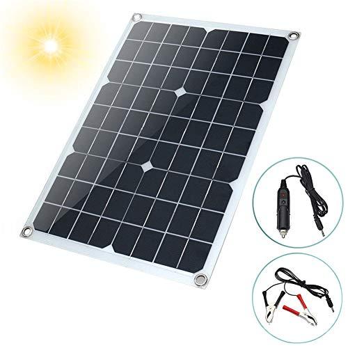 JAYLONG 20W Flexible Solarpaneele, 12V/24V Sicherheits-Solarladegeräte, 17 * 11In Geeignet Für Dächer, Outdoor Und Autos - Portable-rv-generator
