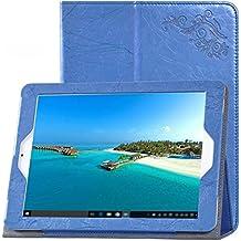 SMTR® Teclast X98 PLUS II tableta PU funda, Calidad premium Slim Soporte Funda para Teclast X98 PLUS II Tableta - azul