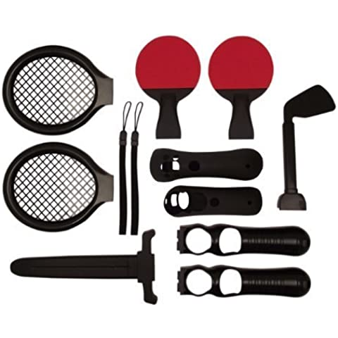 Vierra 12 in 1 Sports TWO PLAYER Accessory Pack for