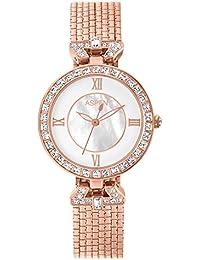Aspen Feminine Exclusive AP1840A Ladies White Analog Watches