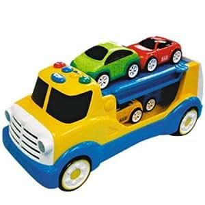 Logitoys - Jouet Premier Age - Camion porte-voitures bao
