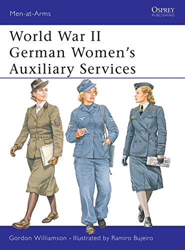 World War II German Women's Auxiliary Services (Men-at-Arms, Band 393) (Uniform Womens Mens)