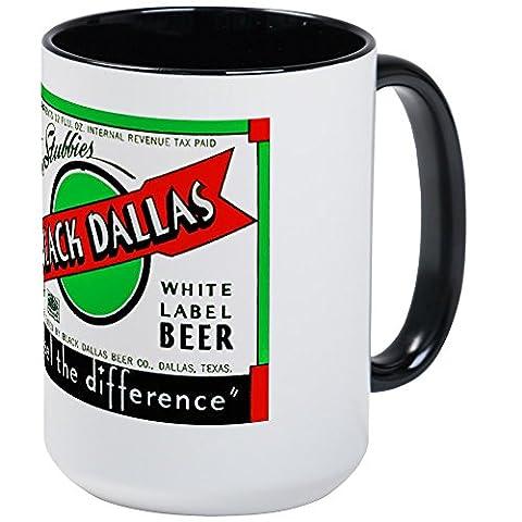 CafePress - Texas Beer Label 2 - Coffee Mug, Large 15 oz. White Coffee Cup