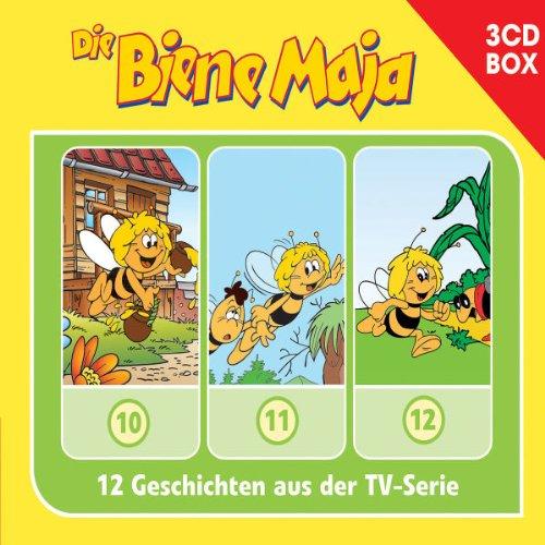 Die Biene Maja, Hörspielbox 4 (3 Audio-CDs)