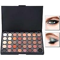 Ociodual Cosmético Mate Sombra De Ojos Estuche Paleta Maquillaje Brillo Set 40 Color