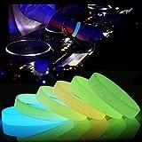 easyshop Fashional Silikon Luminous glühendes Armband Armband Sport Tanz Party