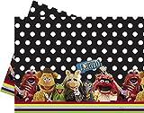 Amscan International Ltd - Guirnalda para fiestas The Muppets, Barrio Sésamo Disney (80509)