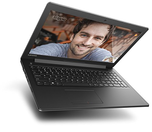 Lenovo Ideapad 310 3962 cm 156 Zoll max HD Notebook Intel center i5 7200U 12GB RAM 256 SSD Intel HD Grafik 620 DVD Windows 10 set schwarz Notebooks