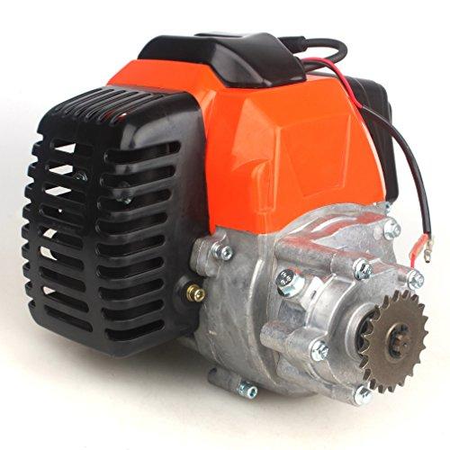 Motor de 49 cc con transmisión de reducción de engranajes para 20T T8F Sprocket Pocket Bike Gas Scooter Mini ATV