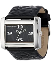 Rockwell Time Mujer VN102 Vanessa Black Patent Leather with Black Reloj