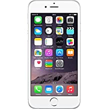 "Apple iPhone 6 - Smartphone libre iOS (pantalla 4.7"", cámara 8 Mp, 64 GB, Dual-Core 1.4 GHz, 1 GB RAM), plateado (Reacondicionado Certificado)"