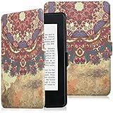 Funda Kindle Paperwhite 3/2/1 Funda Kindle KPW3 Funda Kindle 958/899 Magnética Protectora de Kindle Ultra Delgada Pintura de Alta Definición Kindle Funda de PU Cuero Leather Funda Protectora para Kindle (Estilo Tribual)