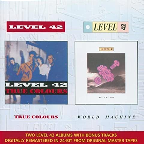 True Colours / World Machine by Level 42