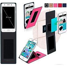 Funda para Jiake N9200 Mini en Rosa - Innovadora Funda 4 en 1-Anti-Gravedad para Montaje en Pared, Soporte de Smartphone en Vehículos, Soporte de Smartphone - Protector Anti-Golpes para Coches y Paredes sin necesidad de herramientas o pegamento - Funda de Reboon para Jiake N9200 Mini Original
