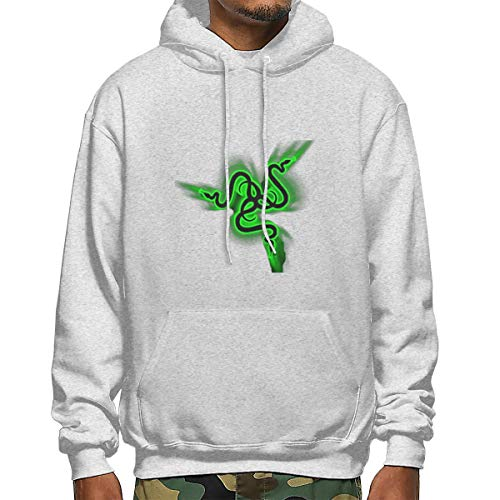XinxinYe Razer Men's Polyester Hoodie Pocket Sweater Jackets