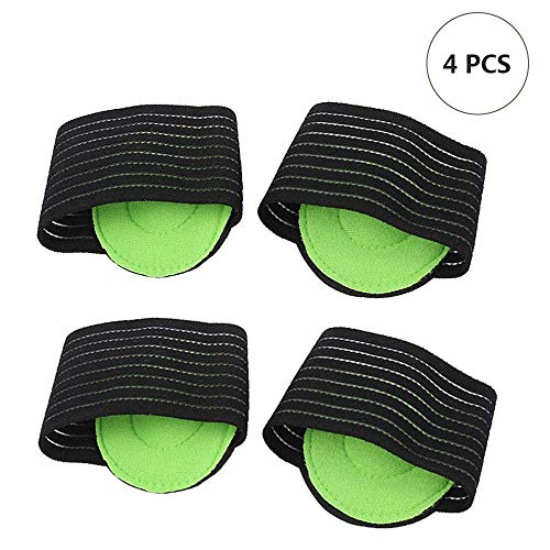 KOKOUK 2 Pairs Compression Fasciitis Support Sleeve, Arch, Plantar Fasciitis, Flat Foot Pain Relief, Spurs and Other Foot Problems, Suitable for Men and Women -